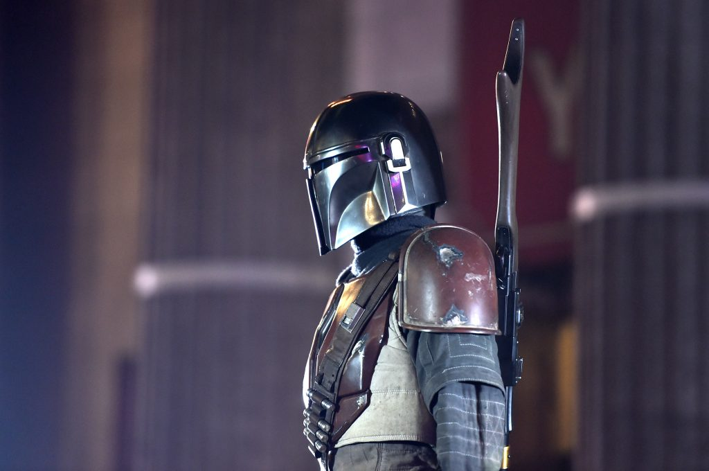 Lucasfilm's first-ever, live-action series 'The Mandalorian'