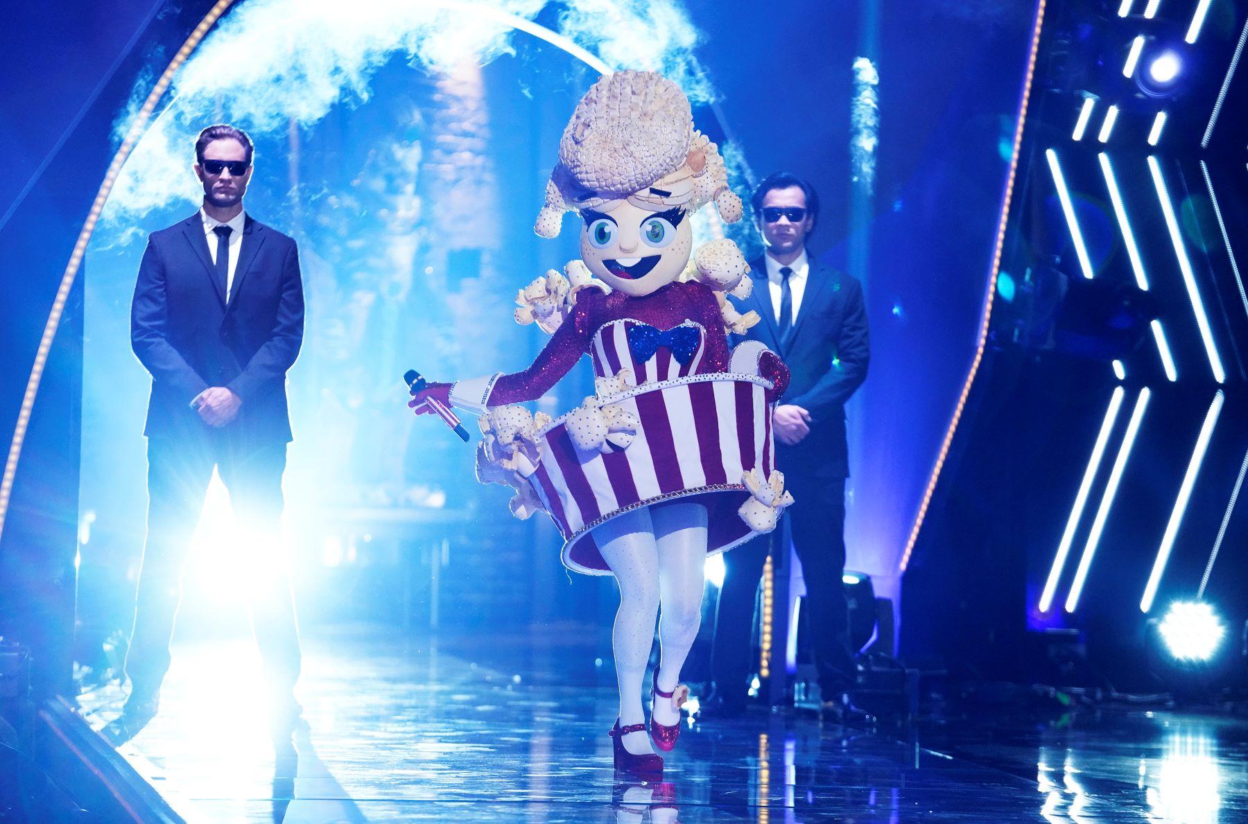 The Popcorn on 'The Masked Singer' Season 4