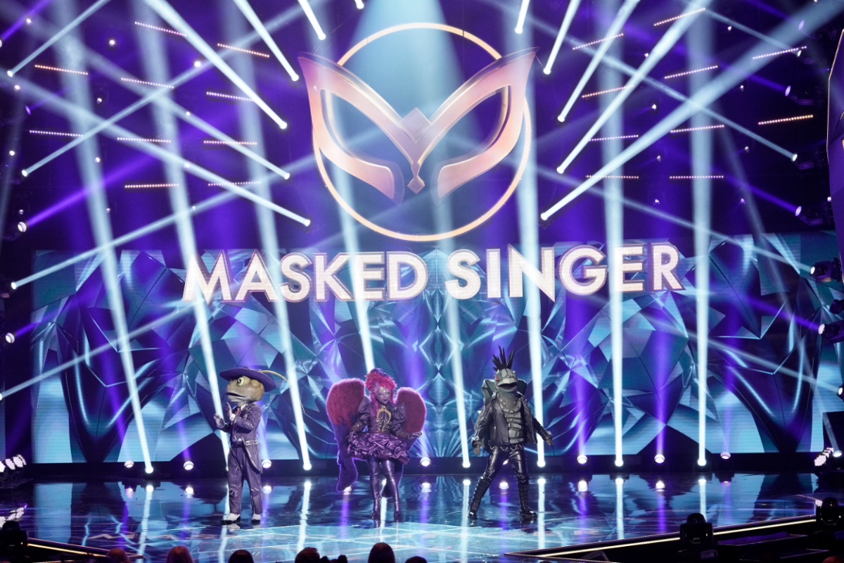 The Masked Singer: Night Angel in the all-new Couldnt Mask For Anything More: The Grand Finale! season finale