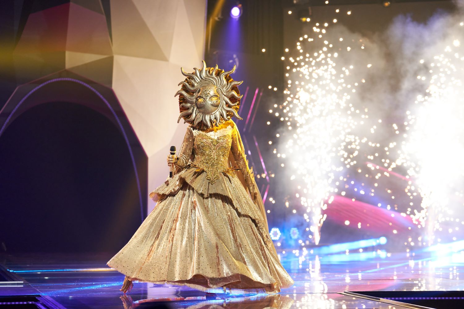 The Sun on 'The Masked Singer'