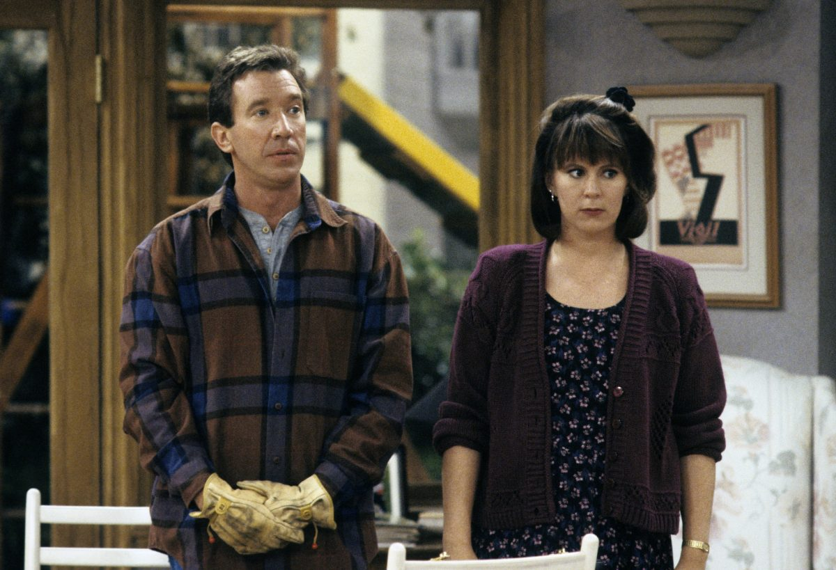 Tim Allen and Patricia Richardson appear in 'Home Improvement'