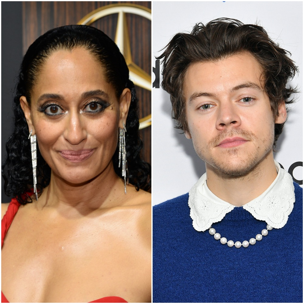 Tracee Ellis Ross and Harry Styles