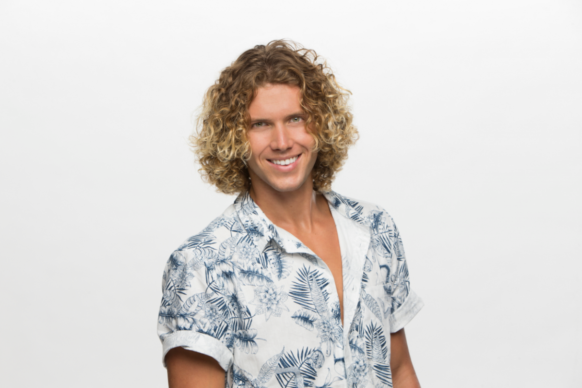 Tyler Crispen houseguest on the CBS series Big Brother