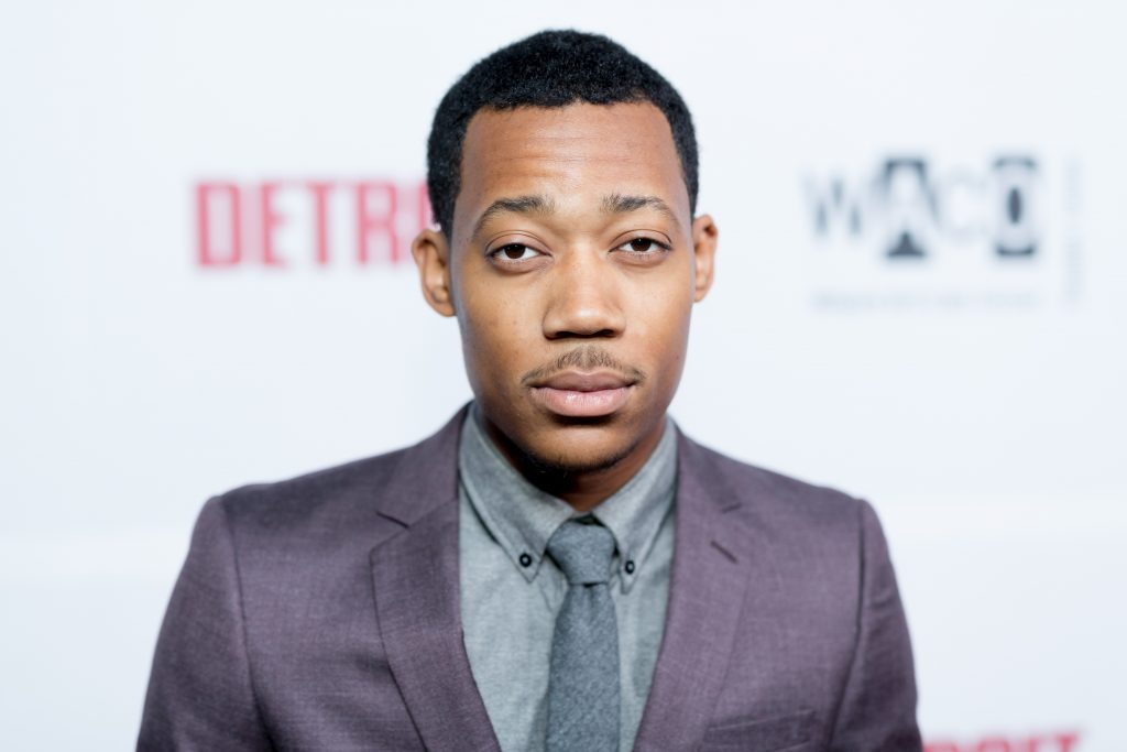 Tyler James Williams at an event