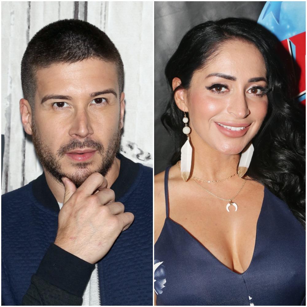 Vinny Guadagnino and Angelina Pivarnick