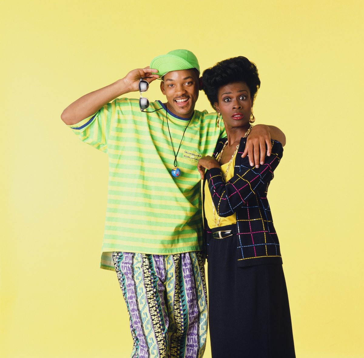 Will Smith and Janet Hubert in 'The Frresh Prince of Bel-Air'