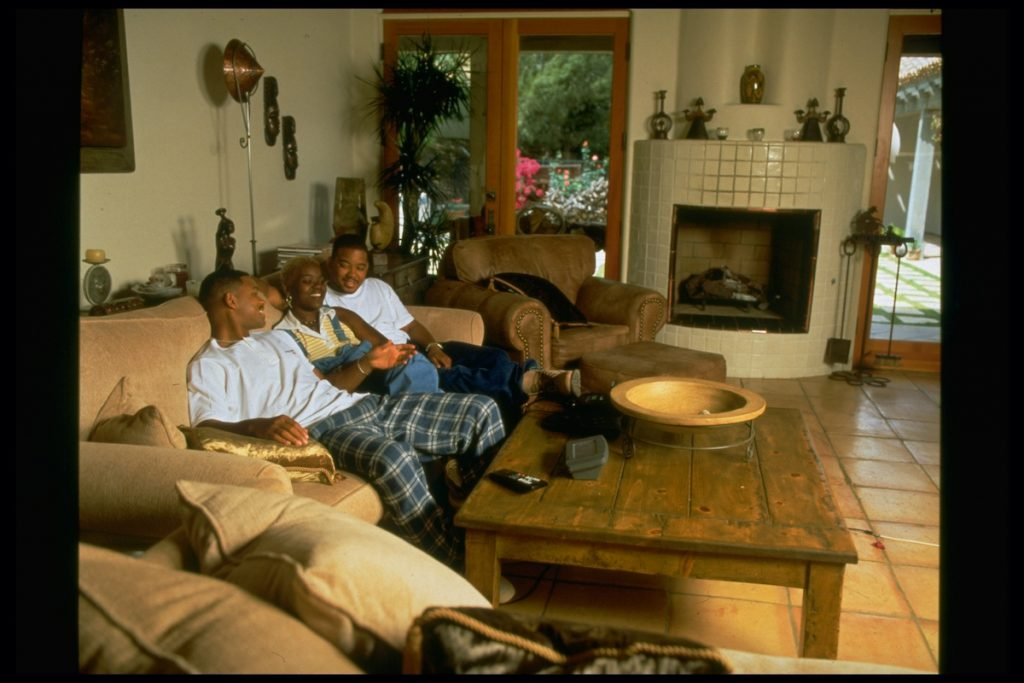 Will Smith, Ellen and Harry Smith