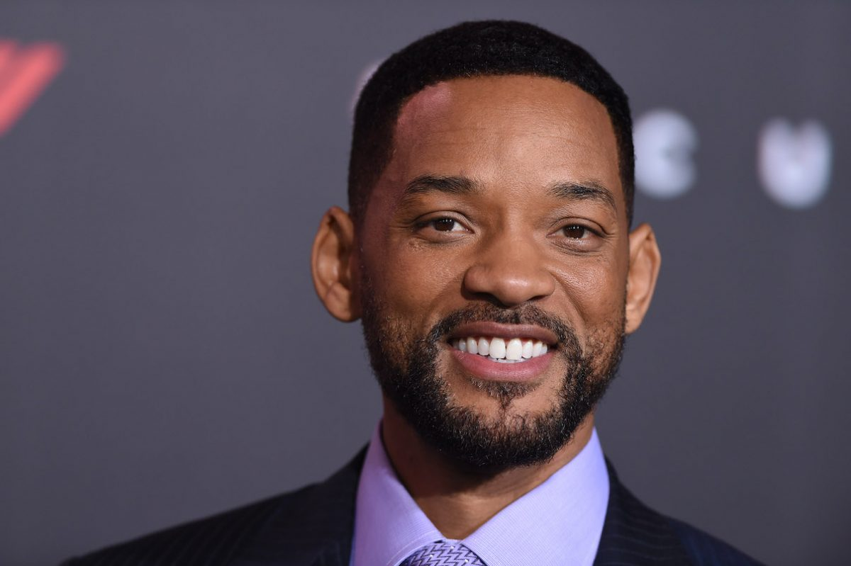 Will Smith at the premiere of 'Focus'