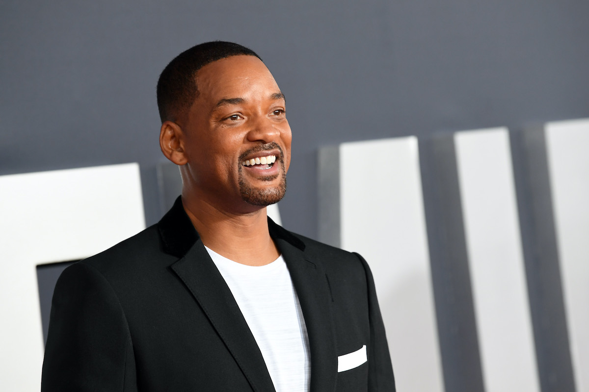 Will Smith at the premiere of 'Gemini Man'