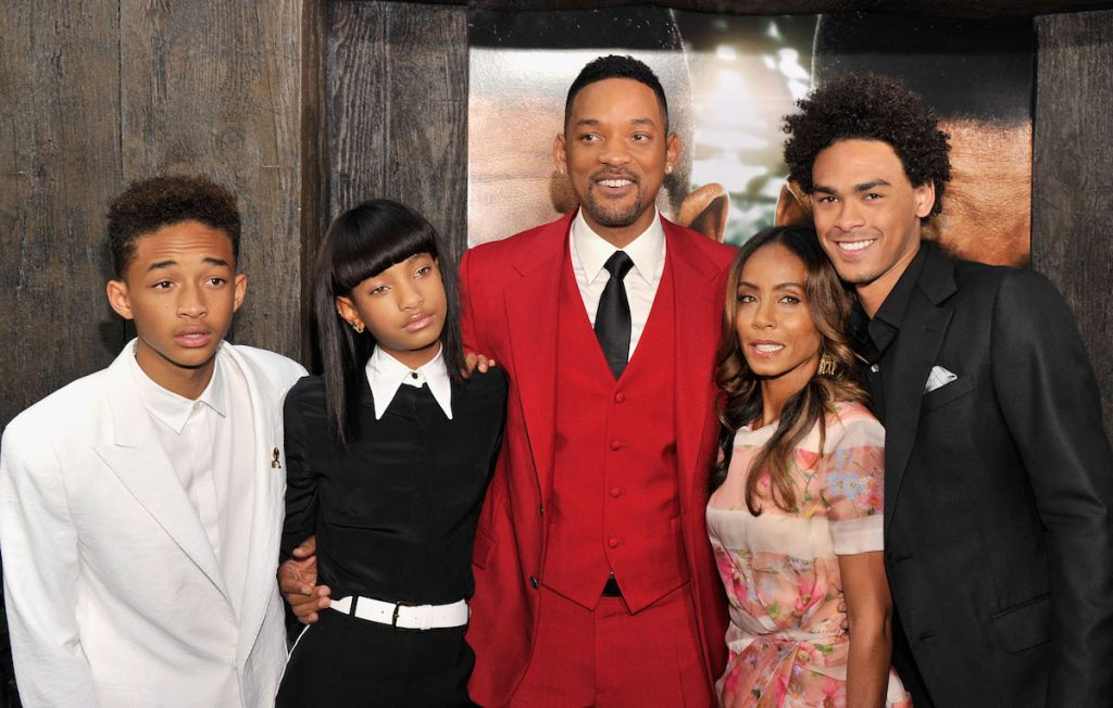 Will Smith and his family