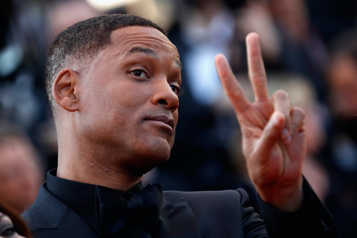 Will Smith at the 70th annual Cannes Film Festival