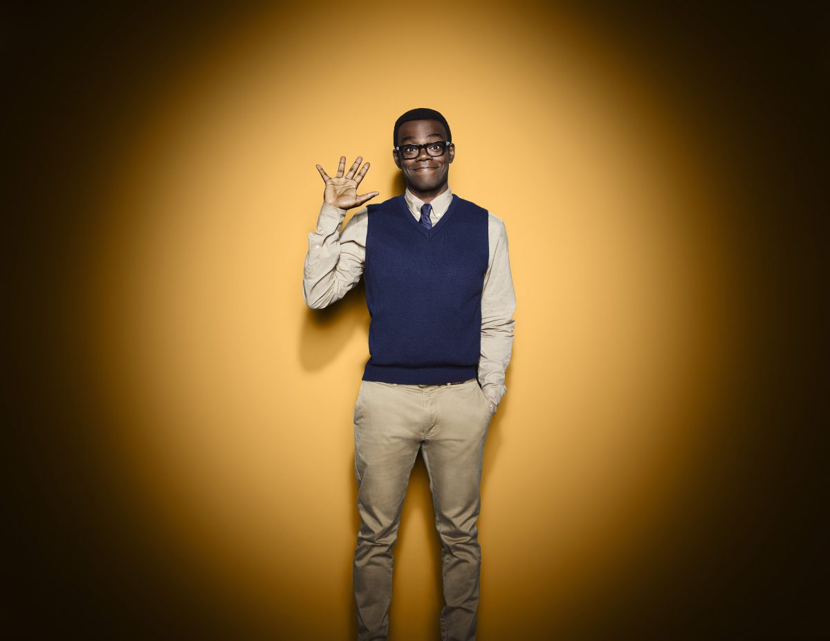 William Jackson Harper as Chidi in 'The Good Place'