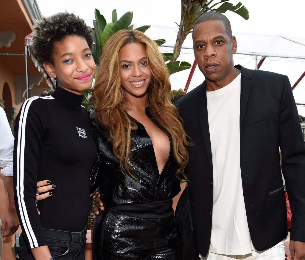 Willow Smith, Beyoncé, and Jay-Z