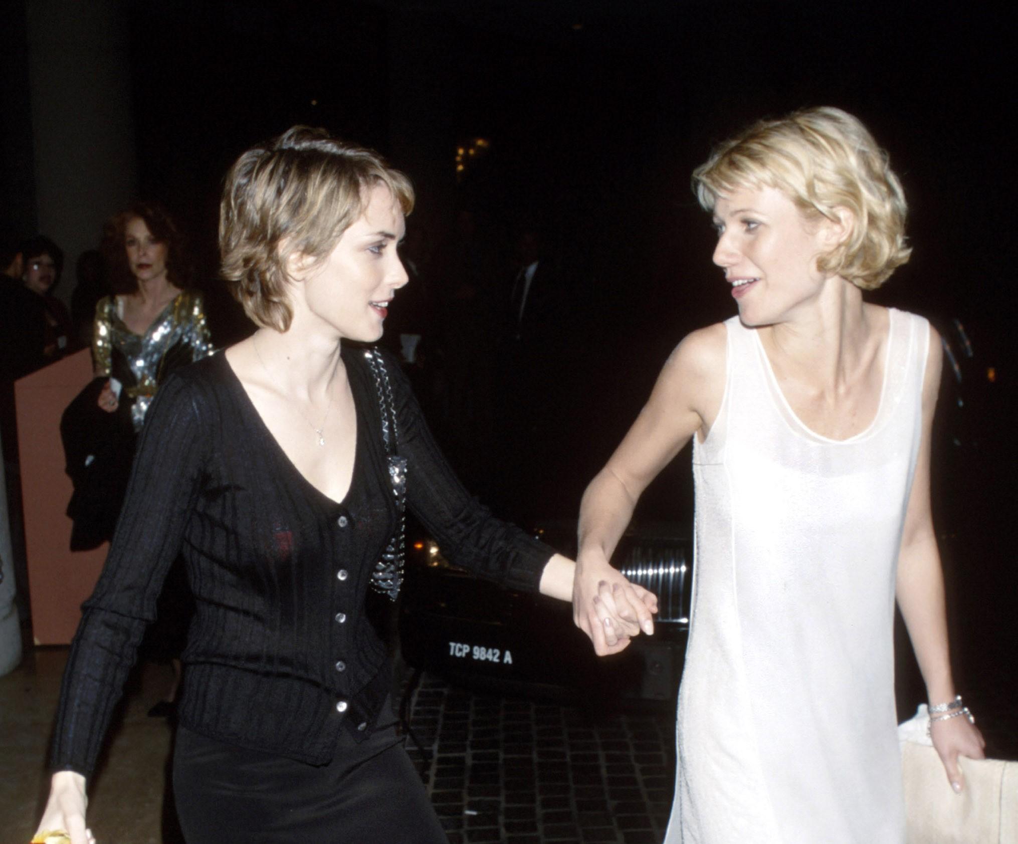 Winona Ryder and Gwyneth Paltrow