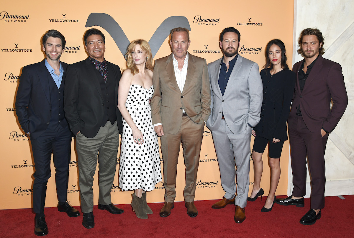 'Yellowstone' cast members at 'Yellowstone' Season 2 Premiere Party