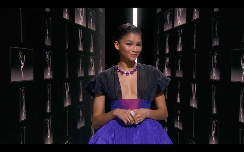Zendaya at the Emmys 2020