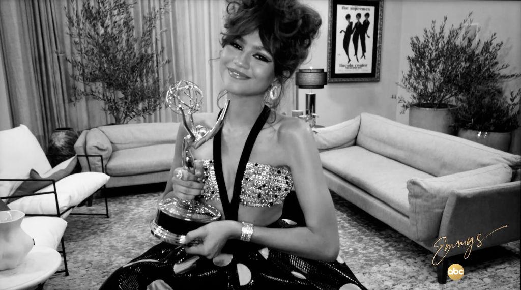 Zendaya at the 2020 Emmys