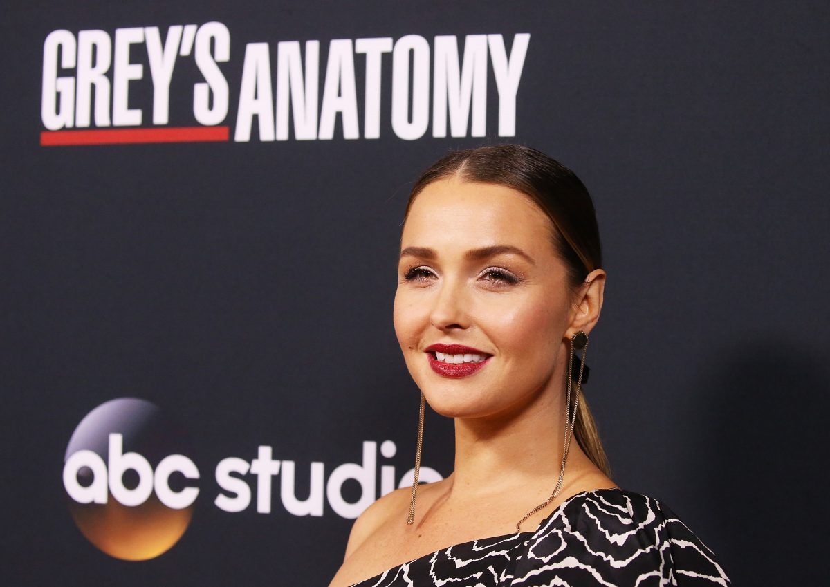 Camilla Luddington arrives at the 300th episode celebration for ABC's 'Grey's Anatomy' on November 4, 2017 in Los Angeles, California.