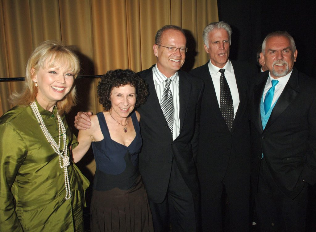 Shelley Long, Rhea Perlman, Kelsey Grammer, Ted Danson and John Ratzenberge at the TV Land Awards in 2006