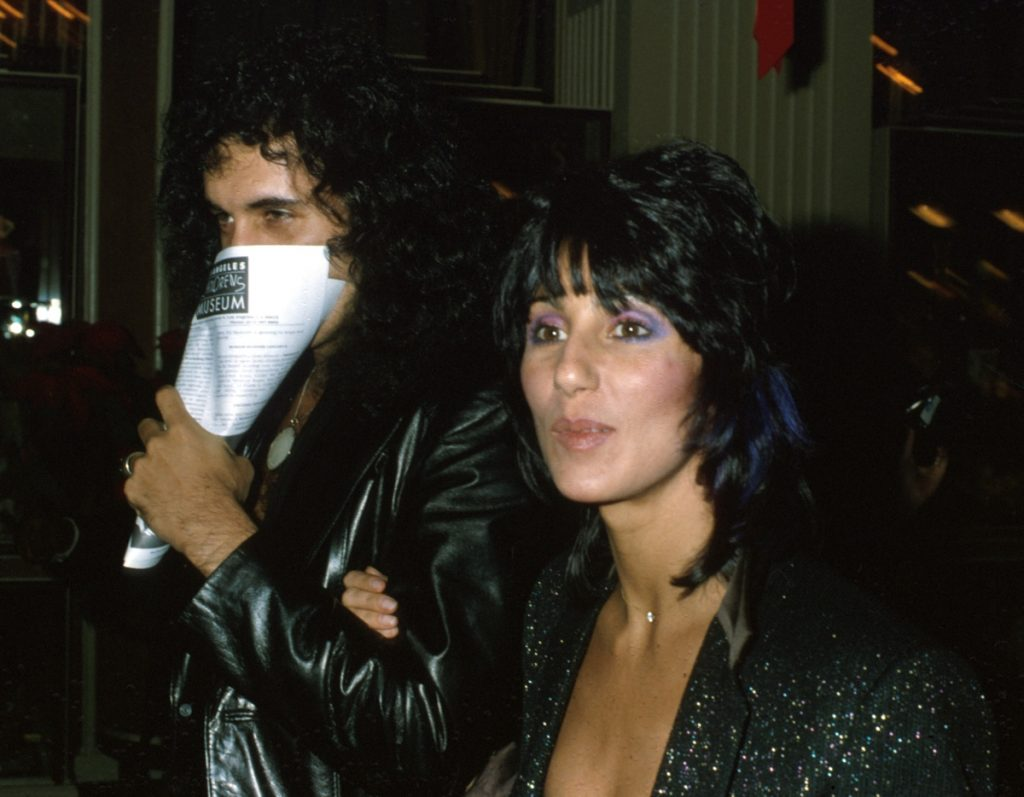 Gene Simmons and Cher