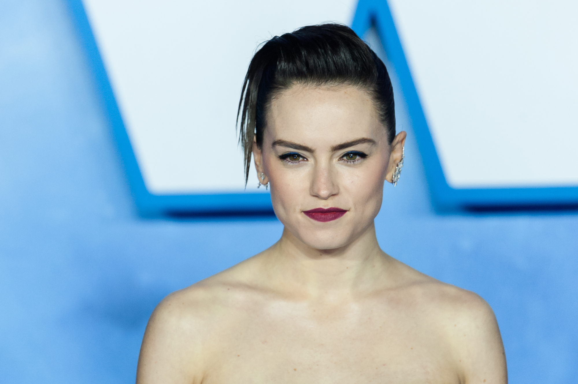 Daisy Ridley at the European film premiere of 'Star Wars: The Rise of Skywalker' at Cineworld Leicester Square on 18 Dec. 2019.