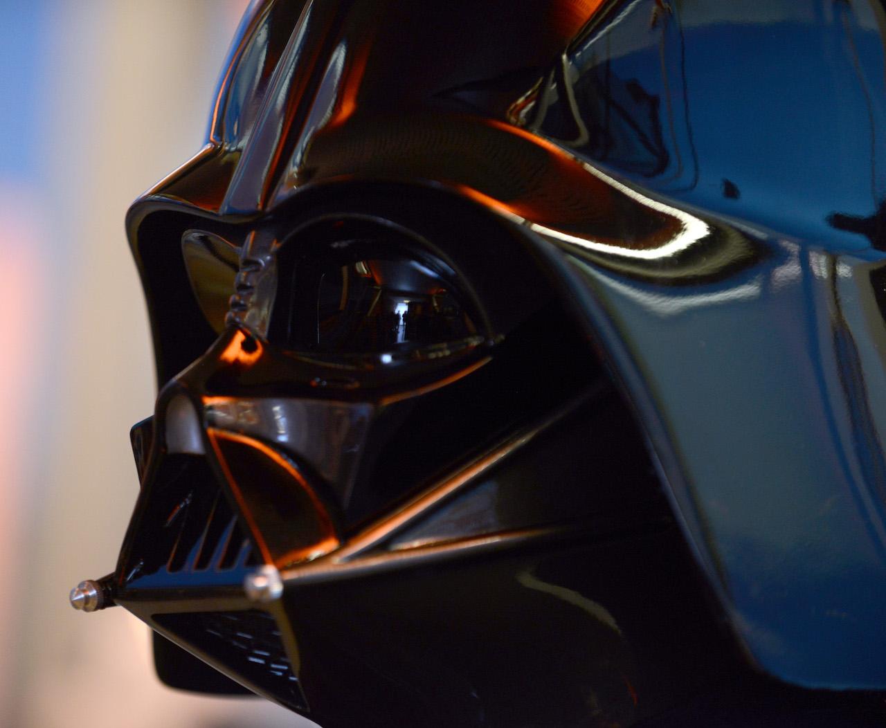 Darth Vader's helmet