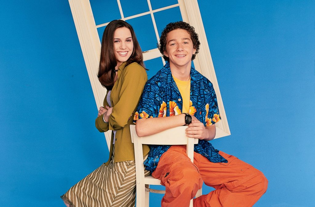 Christy Carlson Romano and Shia LaBeouf star in 'Even Stevens' on the Disney Channel
