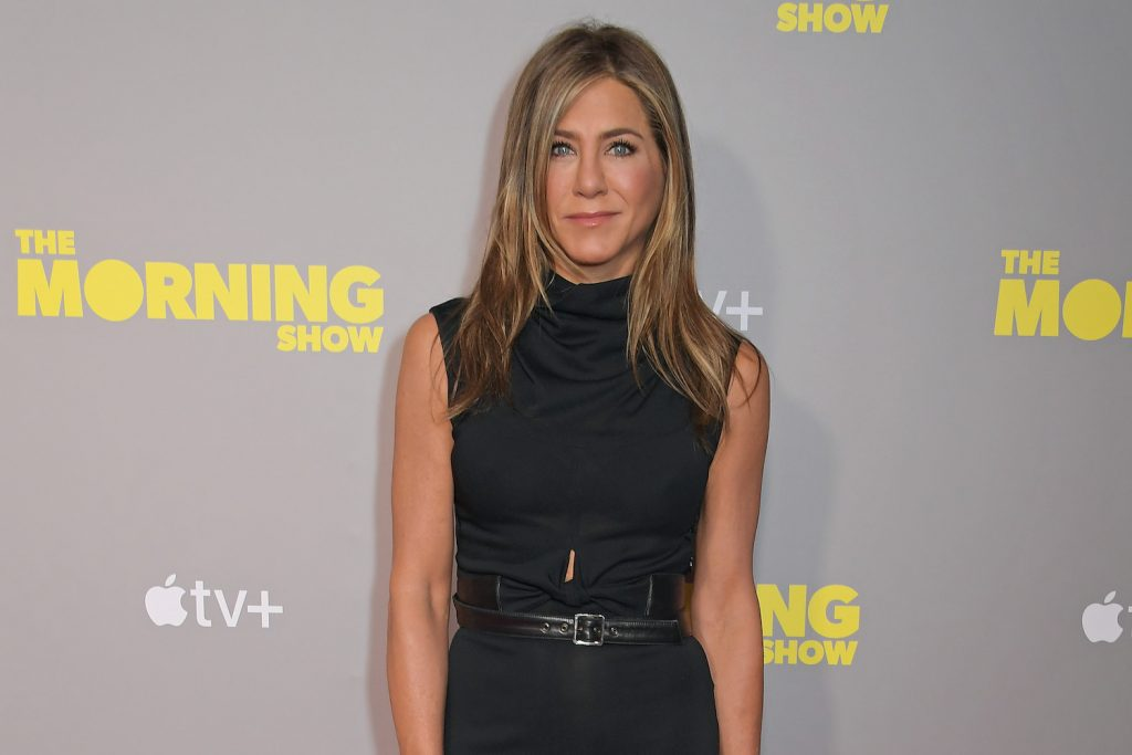 Jennifer Aniston attends a special screening of Apple's 'The Morning Show'