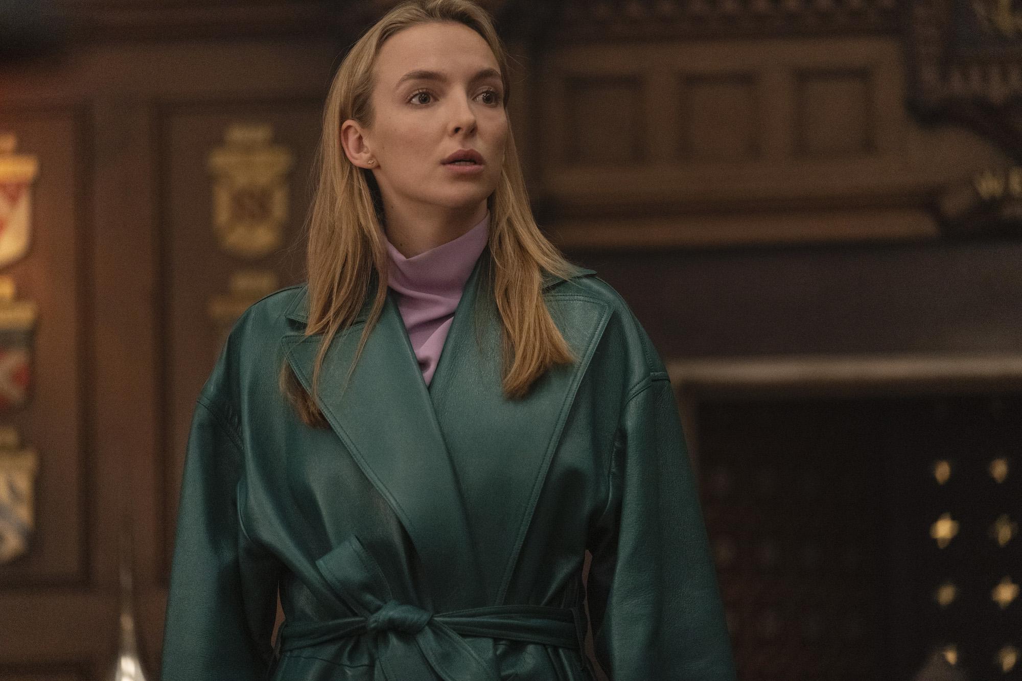 Jodie Comer as Villanelle in 'Killing Eve' Season 3
