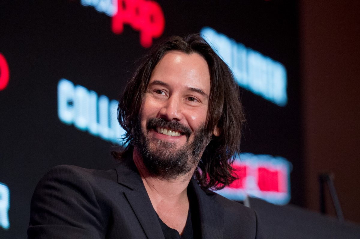 """Keanu Reeves discusses """"Replicas"""" during 2017 New York Comic Con"""