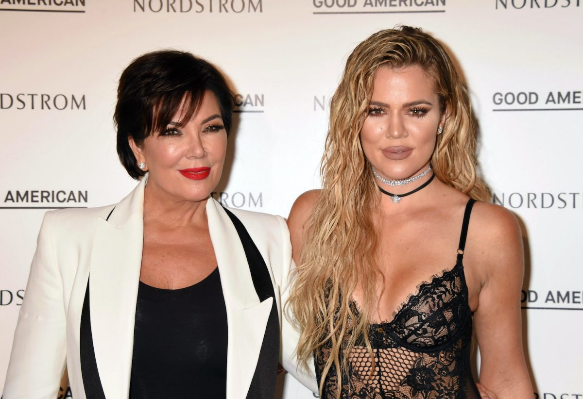 Kris Jenner and Khloe Kardashian attend the Good American Launch Event