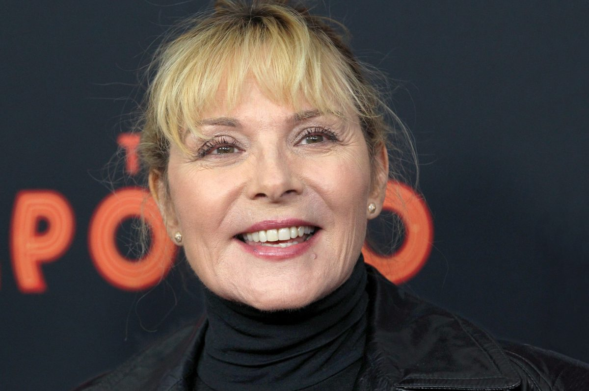 Kim Cattrall attends the screening of 'The Apollo' on the opening night of the 2019 Tribeca Film Festival at The Apollo Theater on April 24, 2019 in New York City.