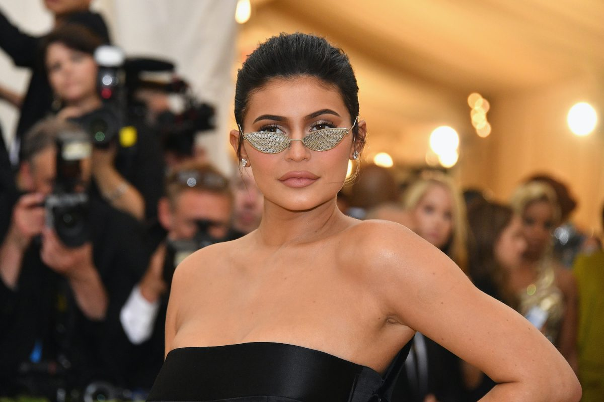 Kylie Jenner attends the Heavenly Bodies: Fashion & The Catholic Imagination Costume Institute Gala at The Metropolitan Museum of Art on May 7, 2018