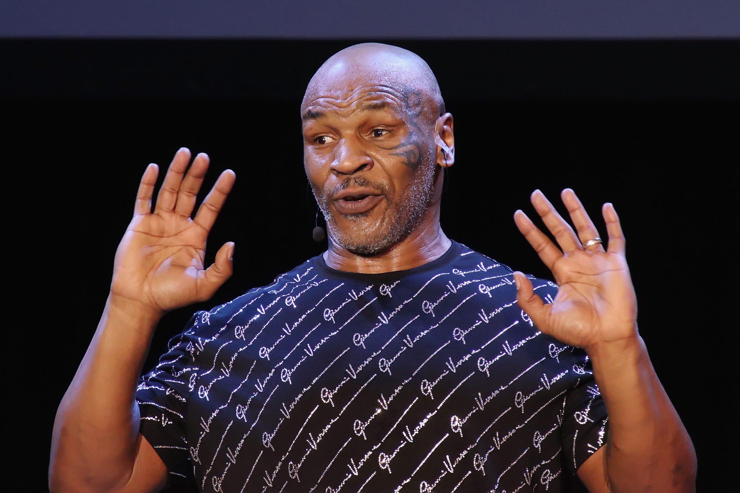 Mike Tyson Absinent 5 years