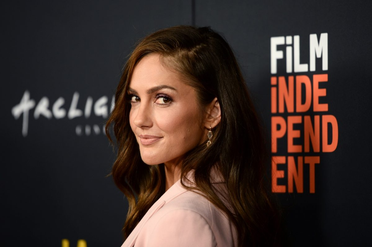 Minka Kelly attends the Closing Night Screening of 'Nomis' during the 2018 LA Film Festival on September 28, 2018 in Hollywood, California.