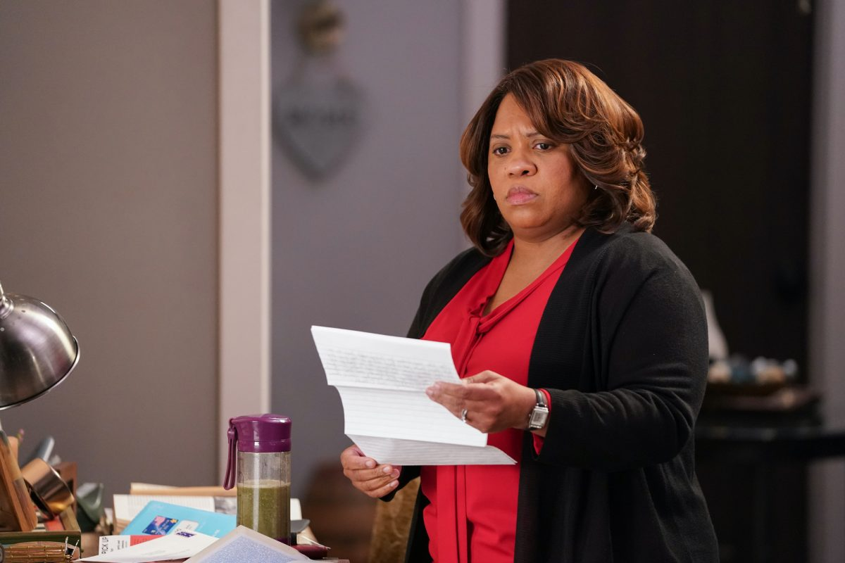 CHANDRA WILSON as Dr. Miranda Bailey on 'Grey's Anatomy'