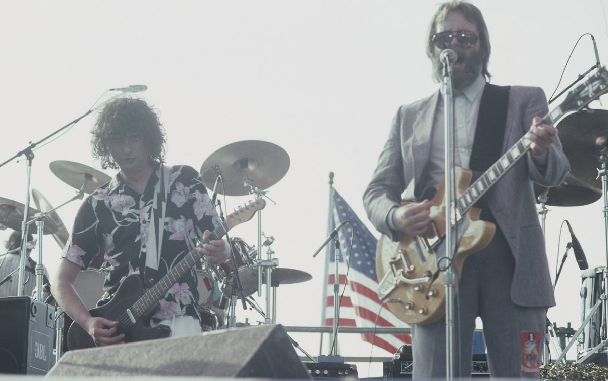 Jimmy Page and the Beach Boys