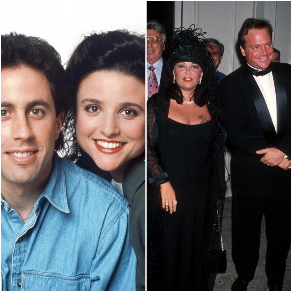 Julia Louis-Dreyfus, Jerry Seinfeld / Roseanne Barr, Tom Arnold