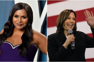 Mindy Kaling Helped Kamala Harris Cook This Indian Dish For the First Time
