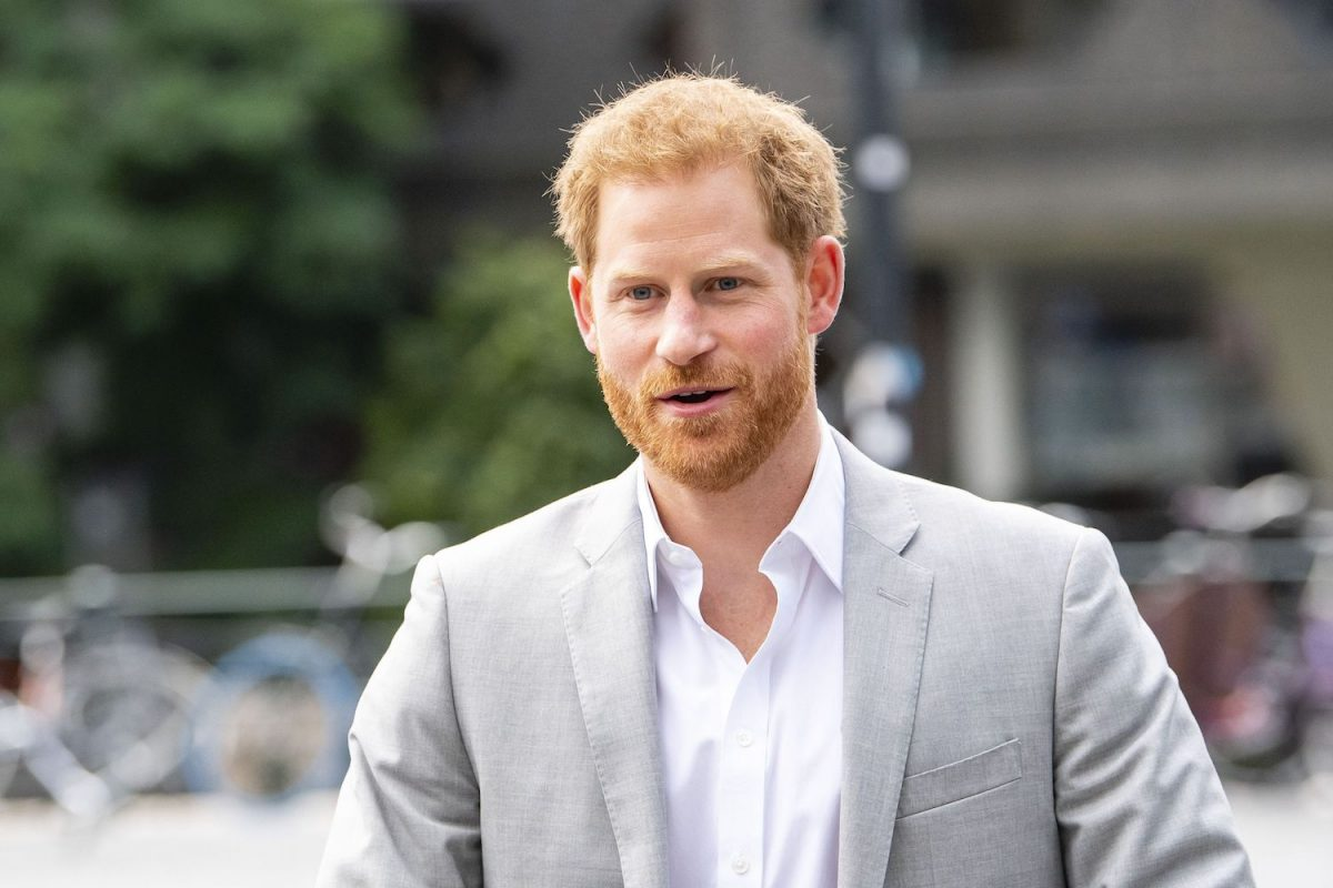 Prince Harry arrives at the ADAM Tower, in Amsterdam, on September 3, 2019