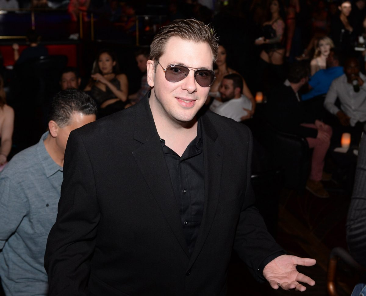 Colt Johnson at his divorce party in Las Vegas, Nevada