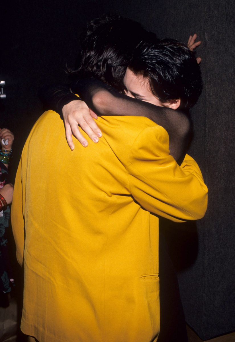 Johnny Depp and Winona Ryder during Cry-Baby Premiere