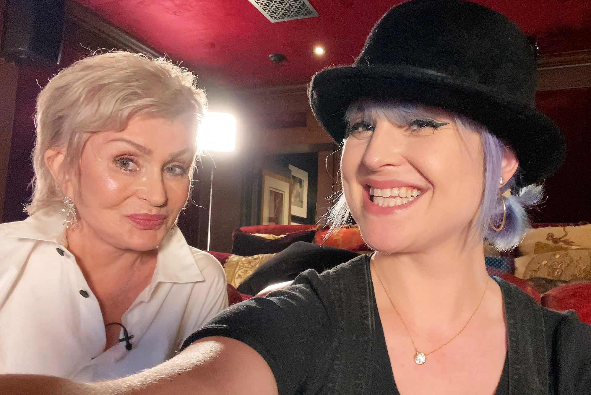 Sharon Osbourne and Kelly Osbourne