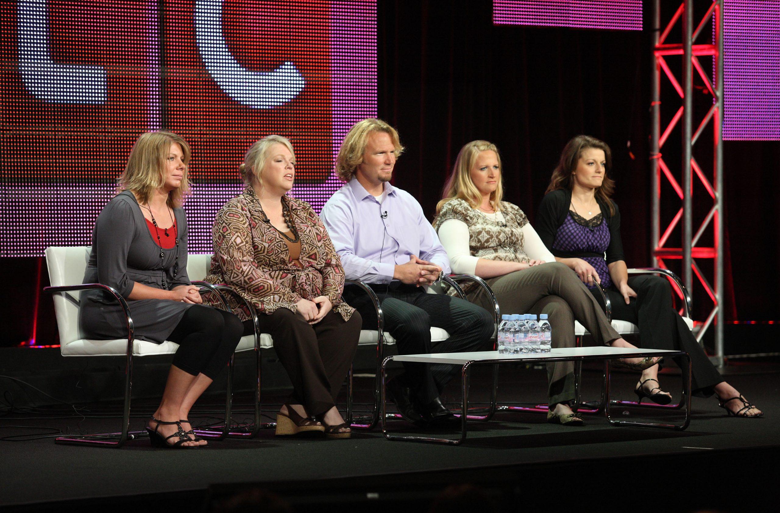 Meri Brown, Janelle Brown, Kody Brown, Christine Brown, and Robyn Brown of Sister Wives