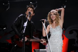 What Taylor Swift's Collaborations With Exes Calvin Harris and John Mayer Have in Common