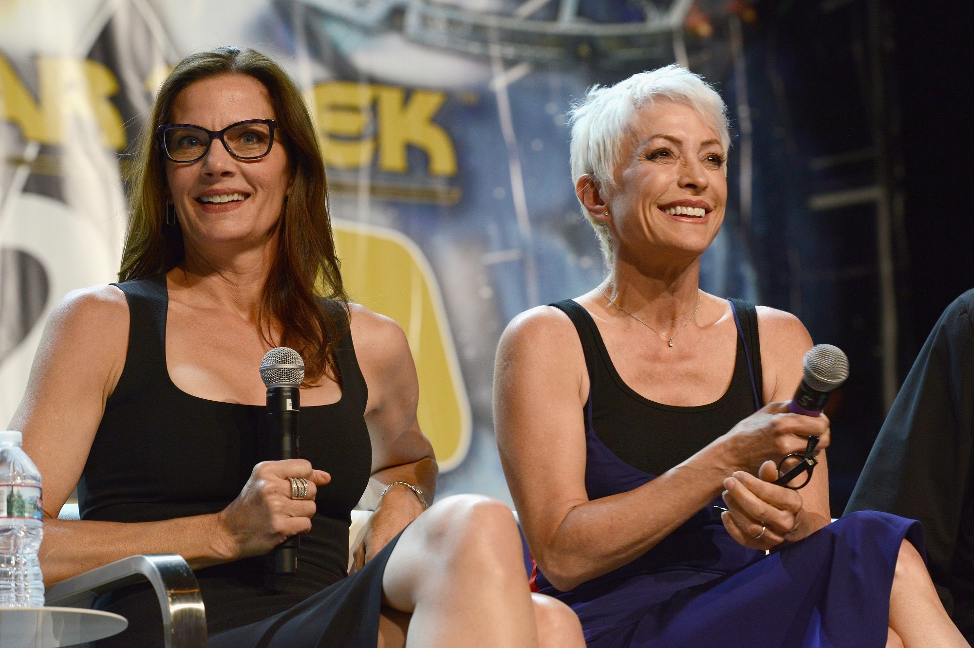 Terry Farrell and Nana Visitor of Star Trek: DS9