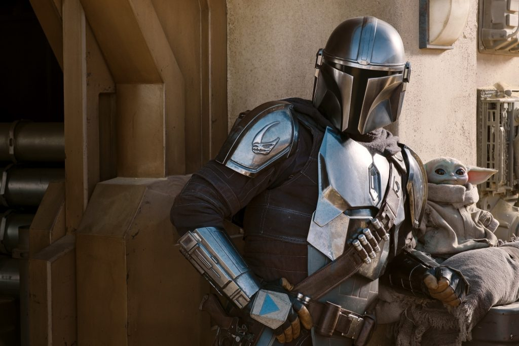 The Mandalorian and The Child in Season 2.