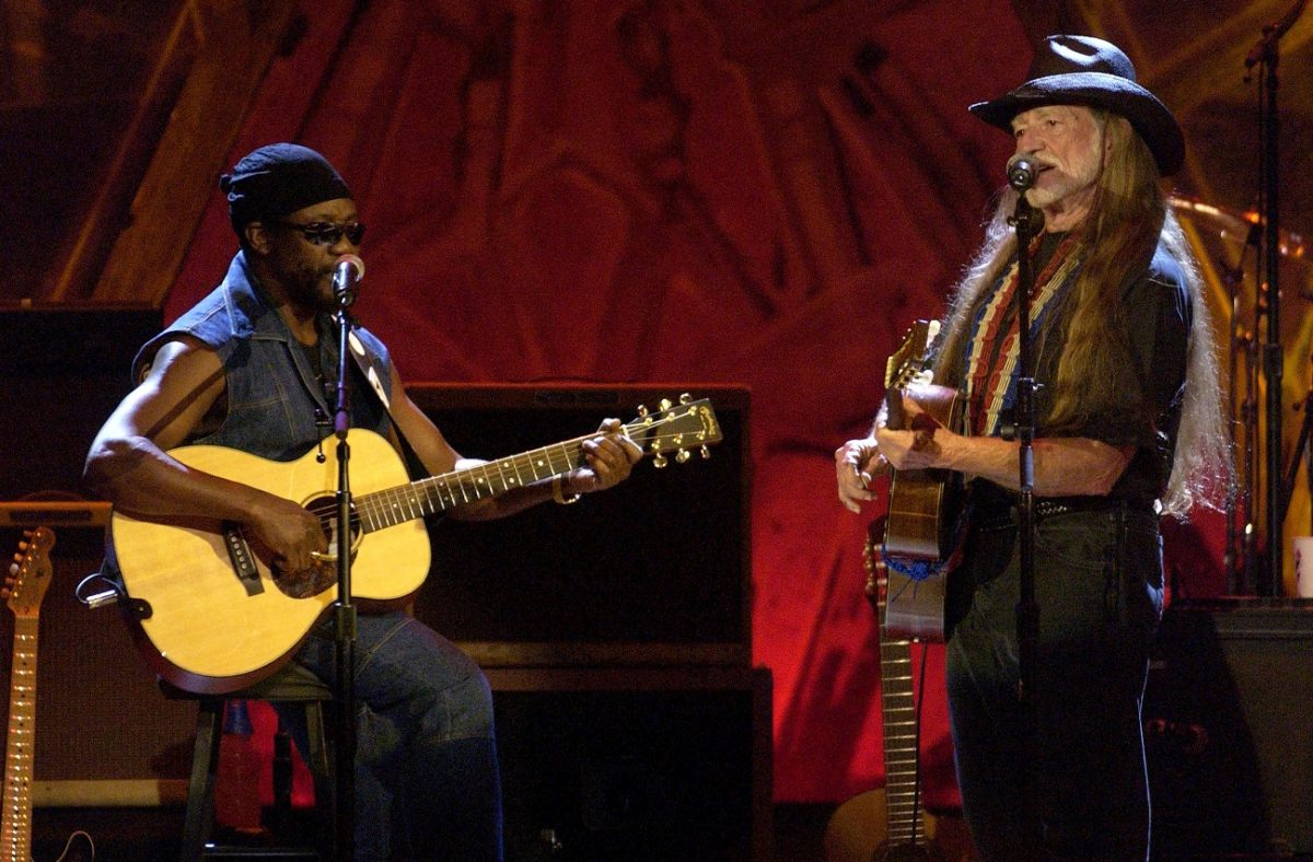 Toots Hibbert and Willie Nelson