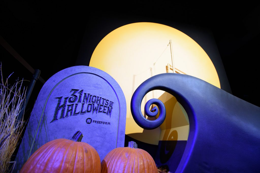Freeform's '31 Nights of Halloween' programming event, with 'Tim Burton's The Nightmare Before Christmas'