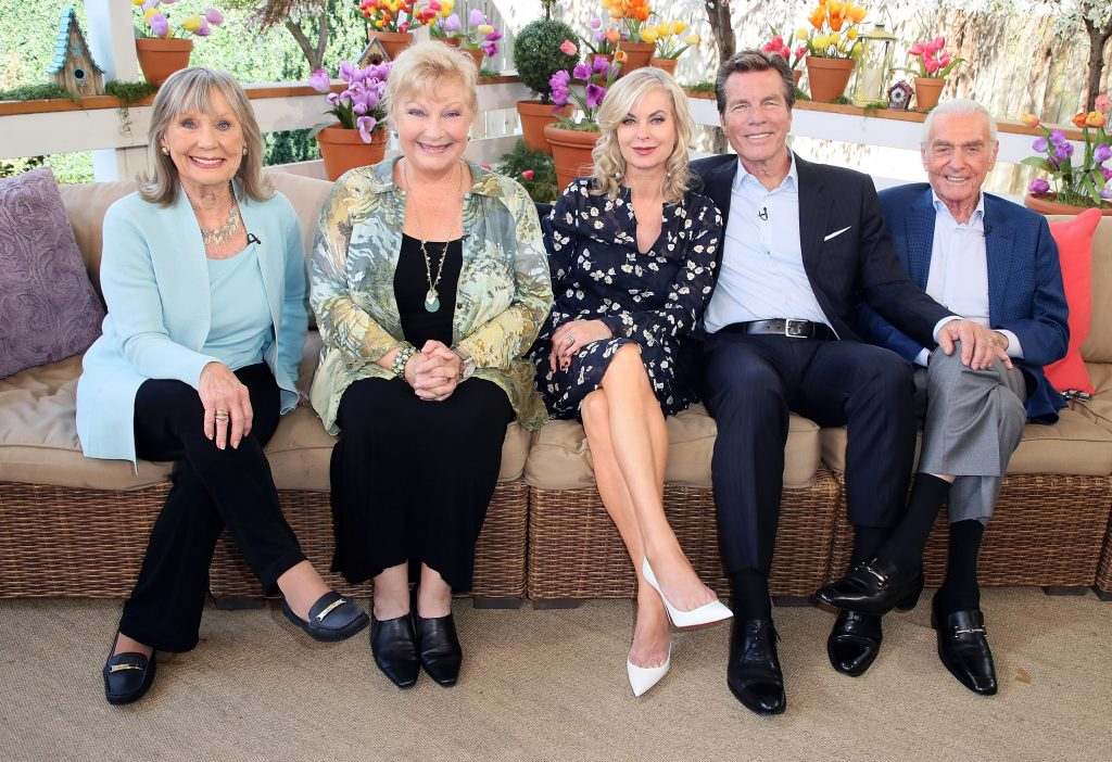 'The Young and the Restless' actors Marla Adams, Beth Maitland, Eileen Davidson, Peter Bergman, and Jerry Douglas